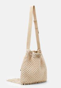 Alberta Ferretti - CROCHET SHOULDER BAG - Tote bag - beige - 1