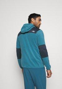 The North Face - DIABLO  HOODIE  - Fleece jacket - mllrdbl/urbnavy - 2
