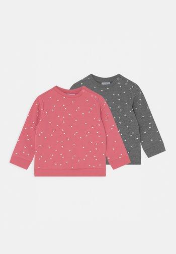2 PACK - Sweatshirt - grey melange