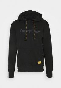 Caterpillar - HOODIE - Luvtröja - black - 0