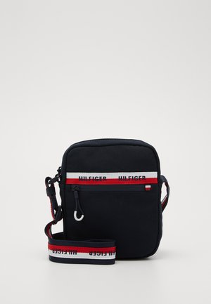 URBAN MINI REPORTER - Across body bag - blue