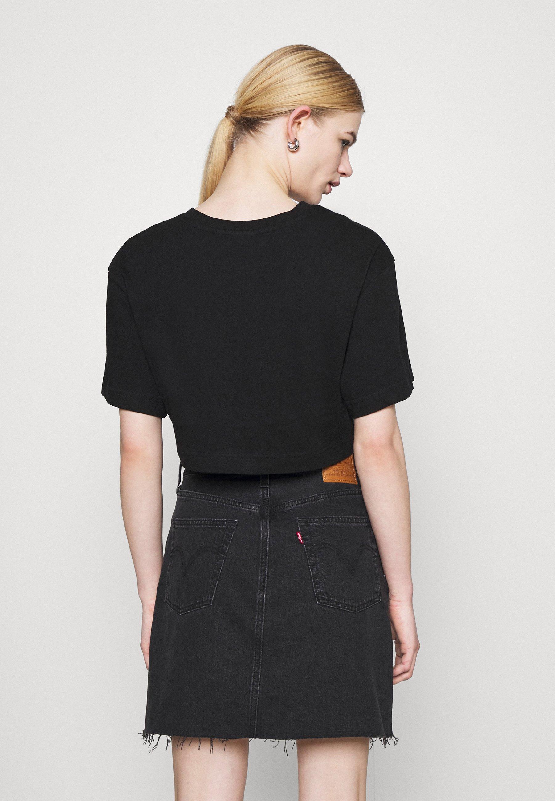 Women CROP VOLUME  - Basic T-shirt