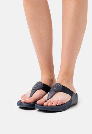 WALKSTAR TOE POST  - T-bar sandals - midnight navy