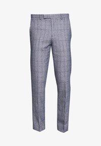 HIRST SUIT - Suit trousers - blue
