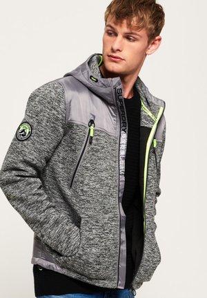 MOUNTAIN - Zip-up hoodie - mottled granite gray