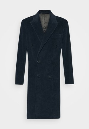 GENTS OVERCOAT - Classic coat - dark blue