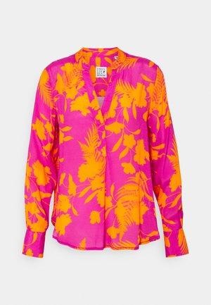 Blouse - orange/pink