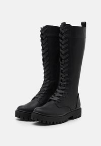 Even&Odd - Lace-up boots - black - 2
