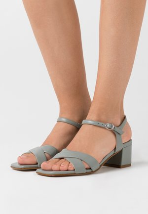 LEATHER SANDALS - Sandals - mint