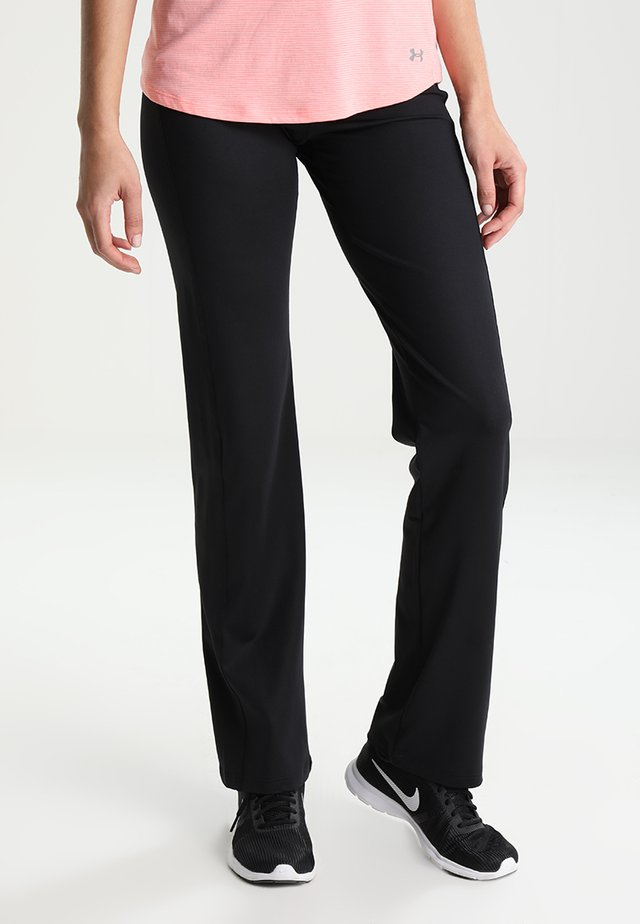 JAZZY - Tracksuit bottoms - black denim