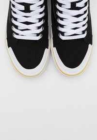 Vans - SK8 REISSUE - High-top trainers - black/yellow/multicolor - 4