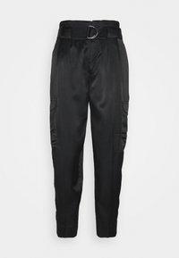 Banana Republic - UTILITY TAPER - Trousers - black - 0