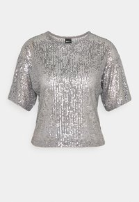 Gina Tricot - RUDY SEQUINS - Bluser - silver - 4