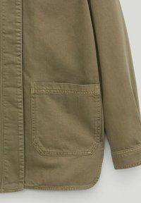 Massimo Dutti - Button-down blouse - khaki - 3