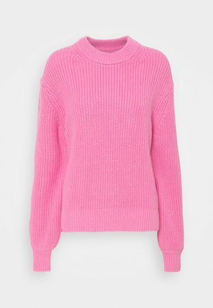 KAYLEE CREW NECK - Strikkegenser - bubble gum pink