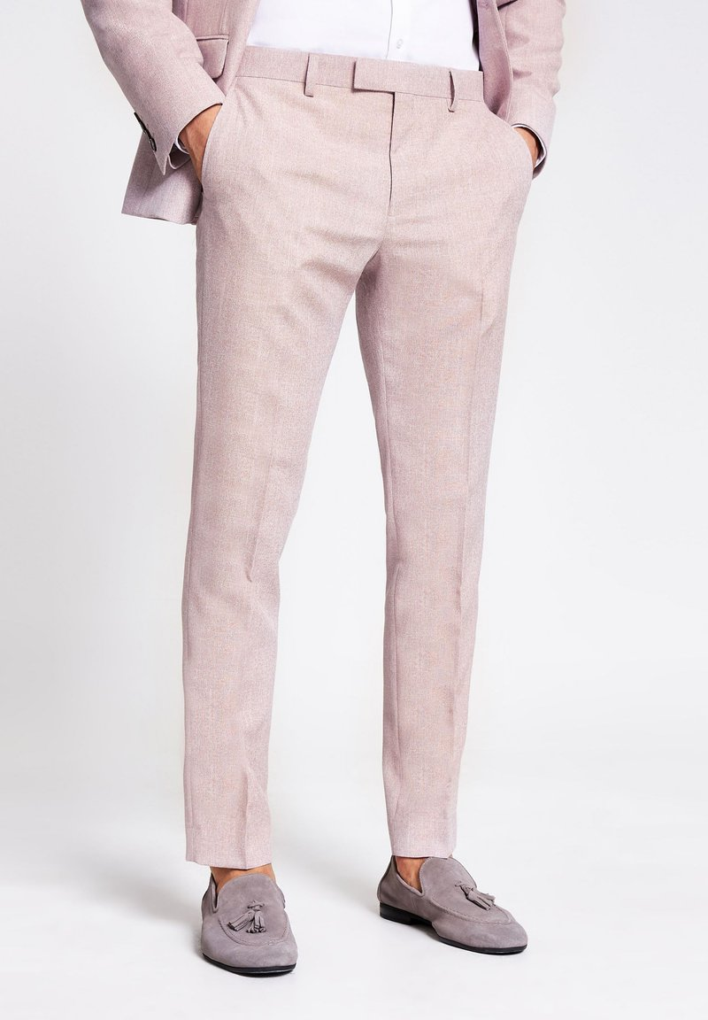 River Island - Suit trousers - pink