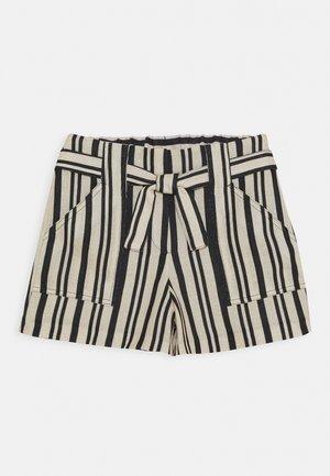 Shorts - beige/black