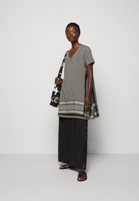 CECILIE copenhagen - DRESS - Day dress - black/stone - 1