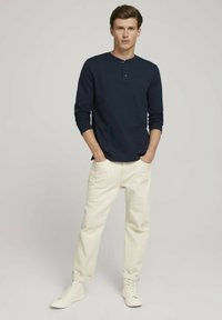 TOM TAILOR DENIM - Long sleeved top - sky captain blue - 1