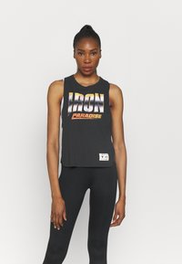 Under Armour - PROJECT ROCK IRON TANK - Top - black - 0