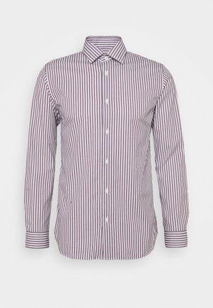 SLHREGPEN-TED SHIRT STRIPES - Overhemd - bright white