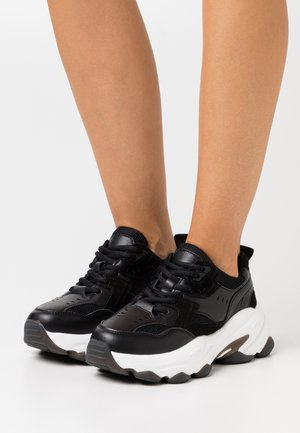 BUBBLE SOLE TRAINERS - Trainers - black