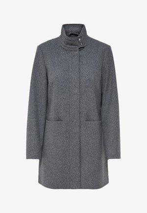 Classic coat - medium grey melange