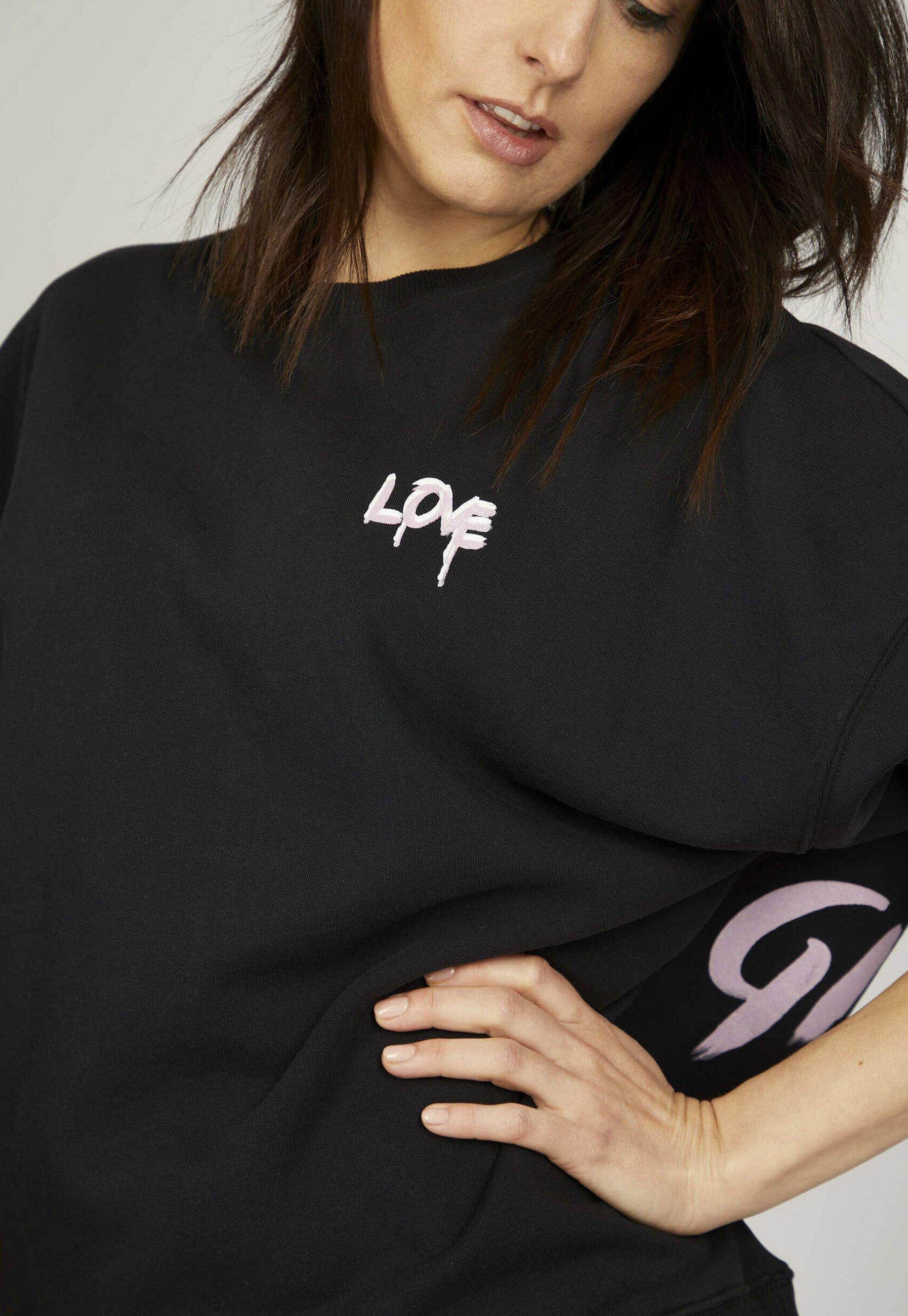 Damen ICON - Sweatshirt - black