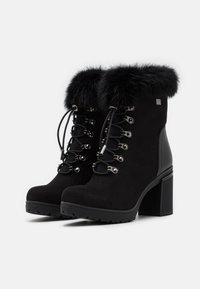 Laura Biagiotti - Platform ankle boots - black - 2