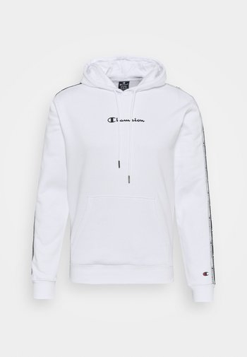 HOODED  - Luvtröja - white