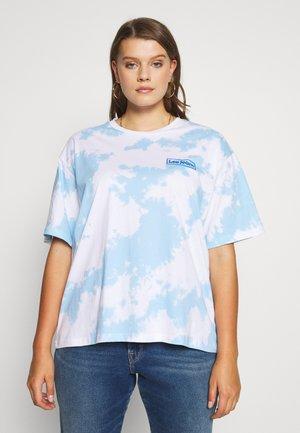 TIE DYE  - T-shirt z nadrukiem - blue