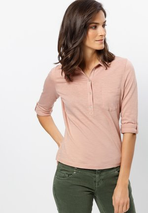 Polo shirt - misty rose