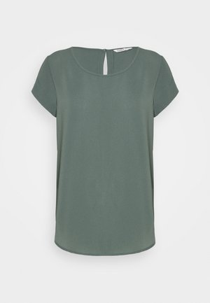 ONLNOVA LUX SOLID - Basic T-shirt - balsam green