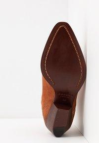 H by Hudson - BERYL - Cowboystøvletter - rust - 6