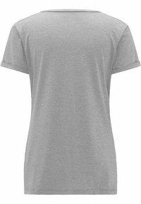 Haglöfs - RIDGE HIKE TEE - Basic T-shirt - concrete - 3