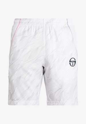 LIQUIFY SHORTS - Sports shorts - white/navy/wild orchid