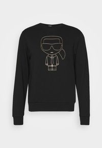KARL LAGERFELD - CREWNECK - Sweatshirt - black/gold - 5