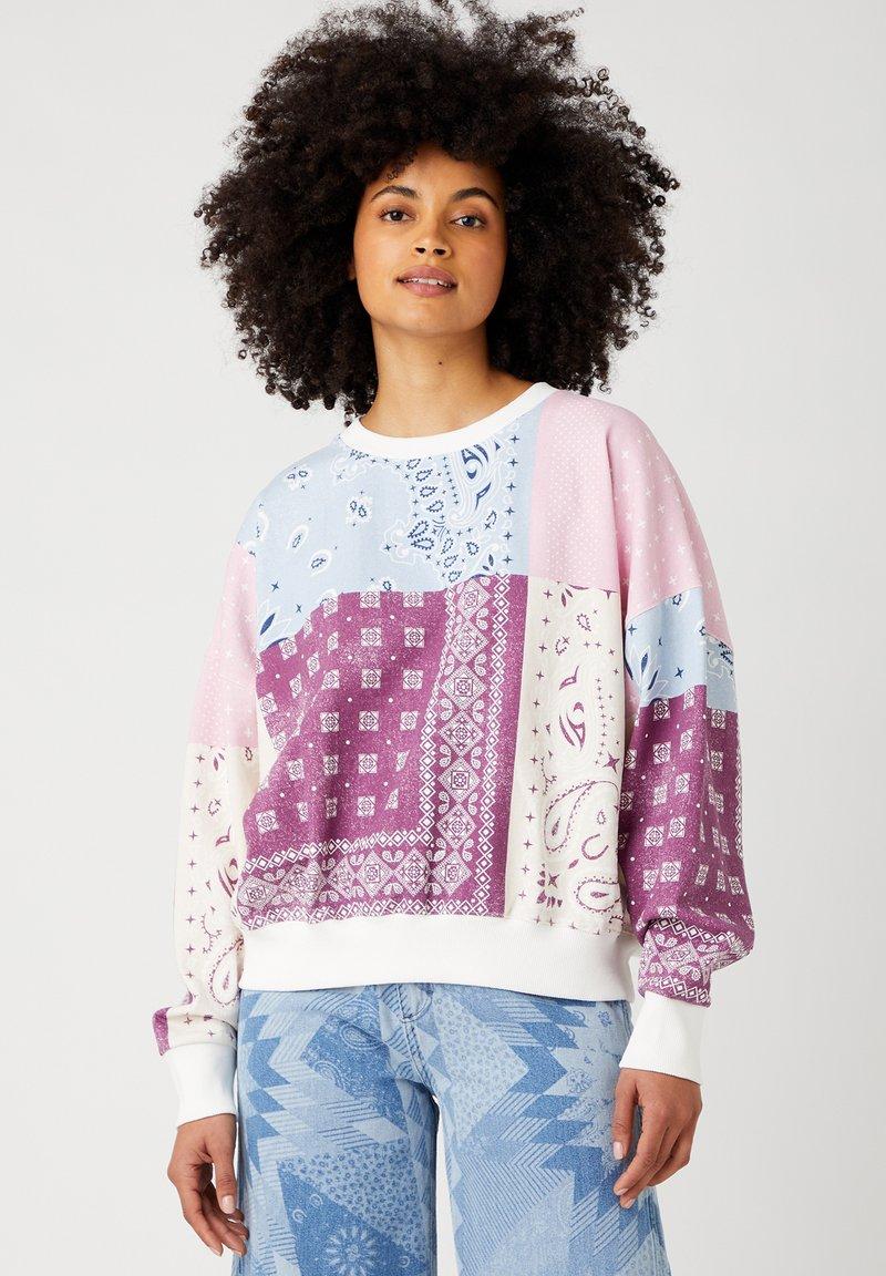 Wrangler - Sweatshirt - amaranth