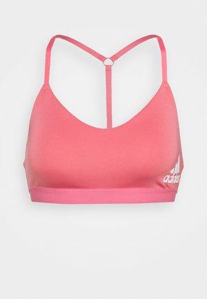 BRA - Light support sports bra - hazros/white