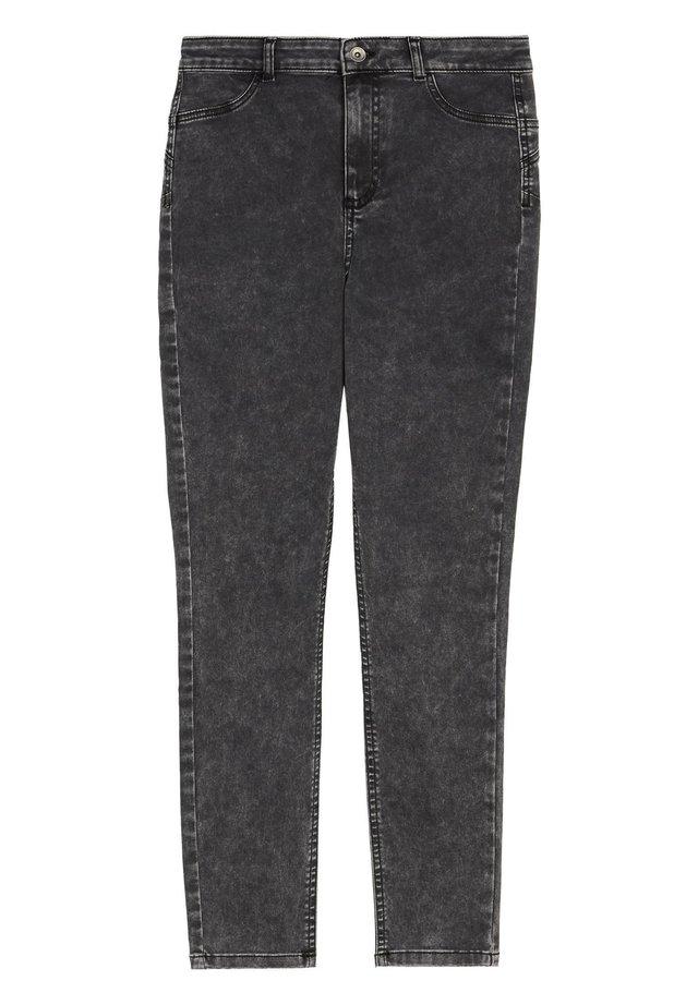 Jeans Skinny - grau - 4597 - grigio acid wash