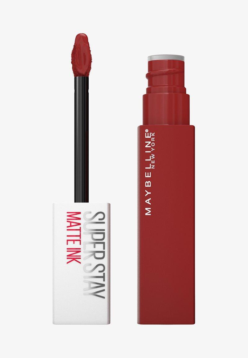 Maybelline New York - SUPER STAY MATTE INK - Liquid lipstick - 335 hustler