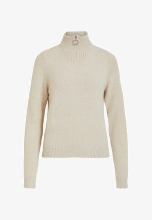 Strickpullover - simply taupe