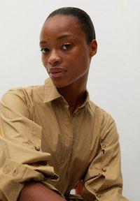 Mango - BELINDA - Košilové šaty - mellembrun - 5