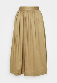 Selected Femme - SLFWANDA MIDI SKIRT - Plisovaná sukně - kelp - 4