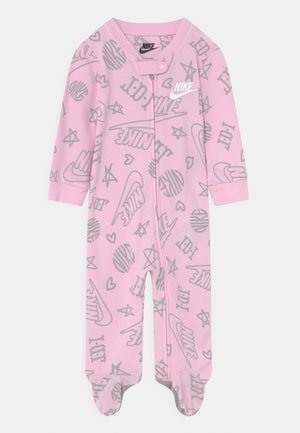 FOOTED COVERALL UNISEX - Sleep suit - pink foam