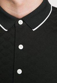 Emporio Armani - Polo shirt - black - 6