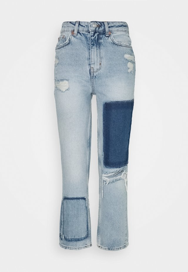 PAX JEAN - Straight leg jeans - blue denim
