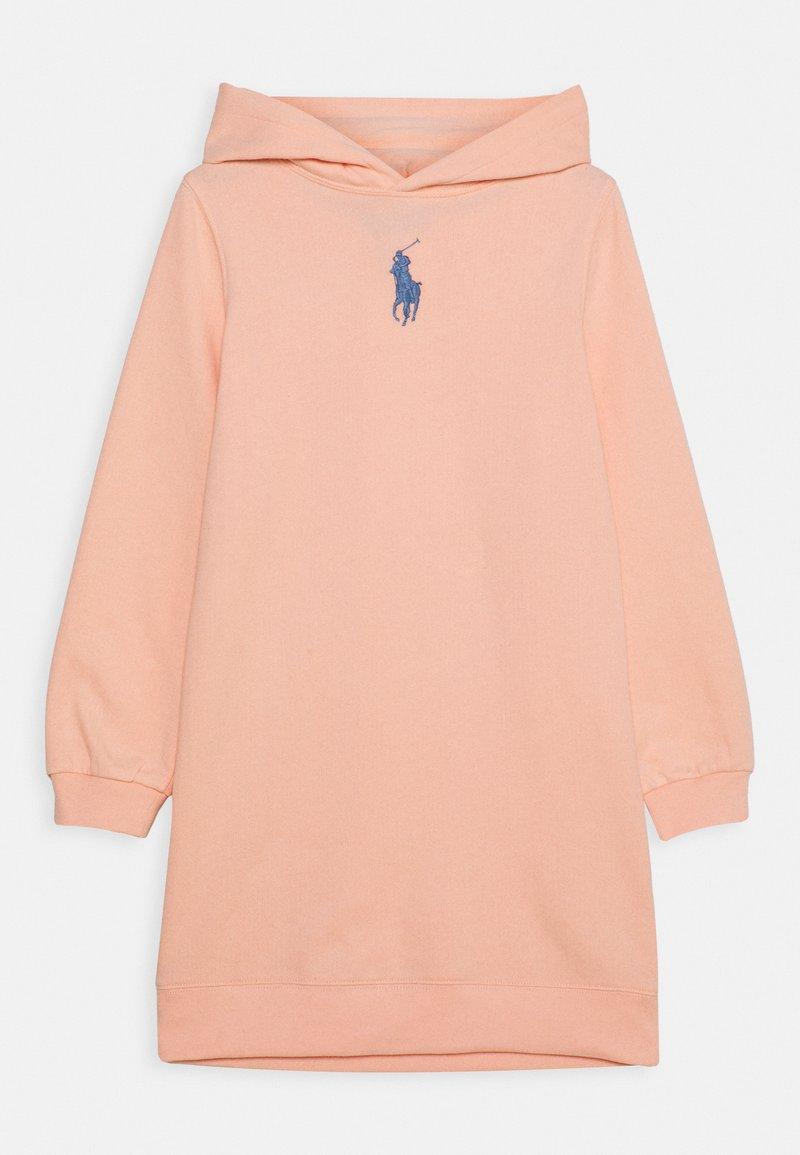 Polo Ralph Lauren - HOOD DRESS - Day dress - deco coral