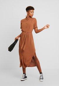 Envii - ENSILJAN DRESS - Shirt dress - toffee - 2