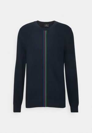 Jumper - dark blue, red